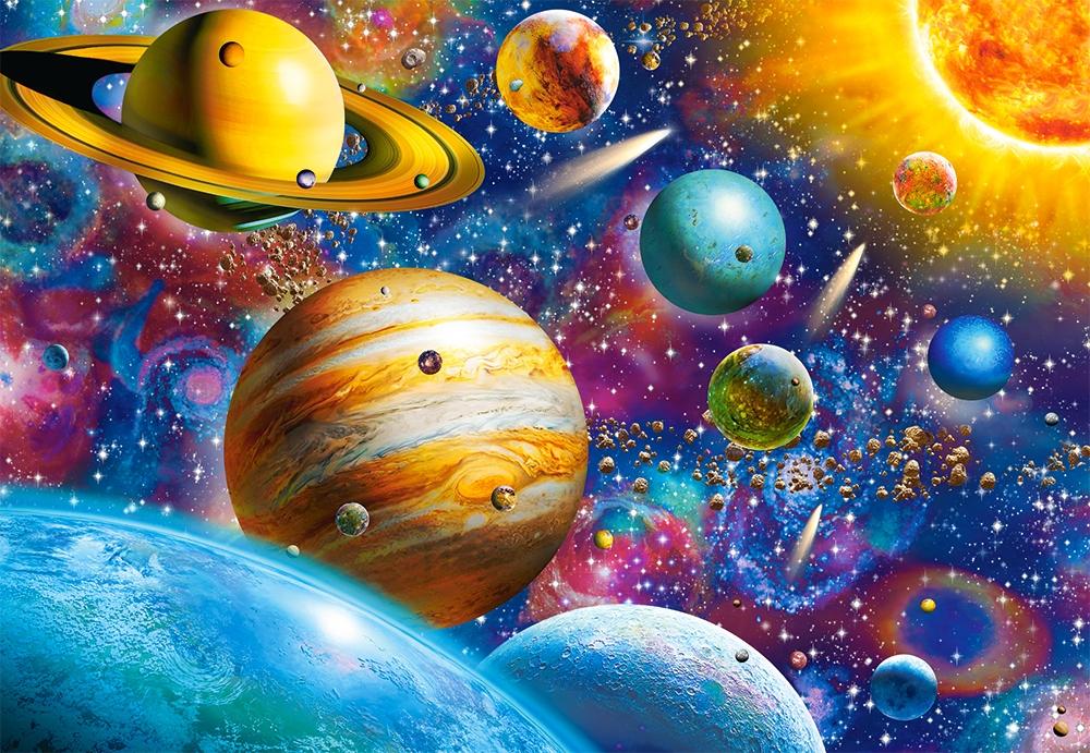 Пазл Castorland 1000 деталей: Солнечная система (C-104314) - купить в интернет магазине - 1001puzzle.ru
