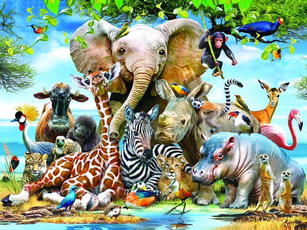 картинки всех животных картинки всех животных принял его службу
