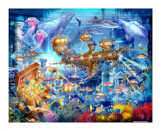 купить пазл с подводными лодками